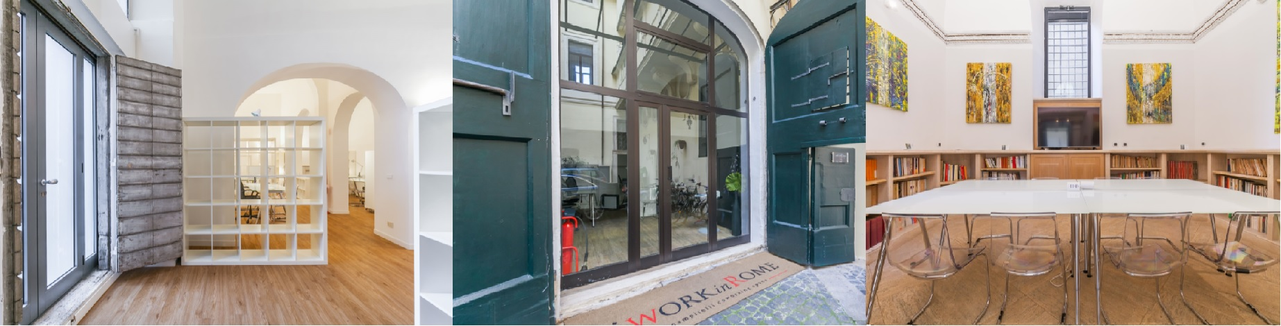 furnished temporary offices and coworking spaces in rome