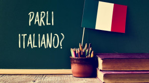parli italiano